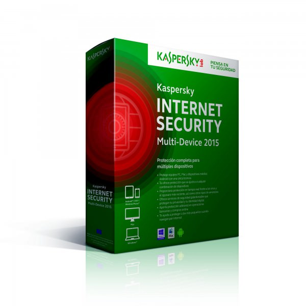 Antivirus KASPERSKY 2018 Internet Security - 3 Usuarios